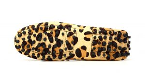 london loafers womens mayfair leopard print pony hair driving loafers 2