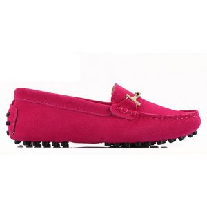 london loafers windsor fuchsia pink suede horsebit driving loafers